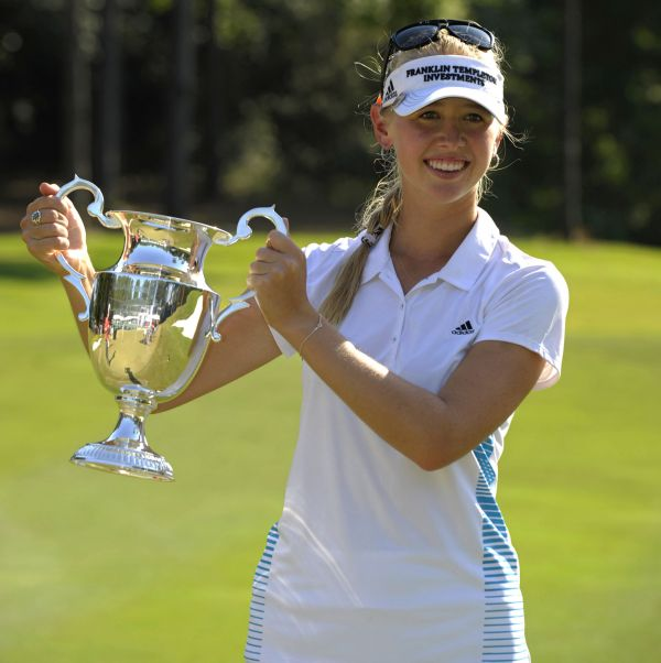 Americká golfistka Jessica Kordová