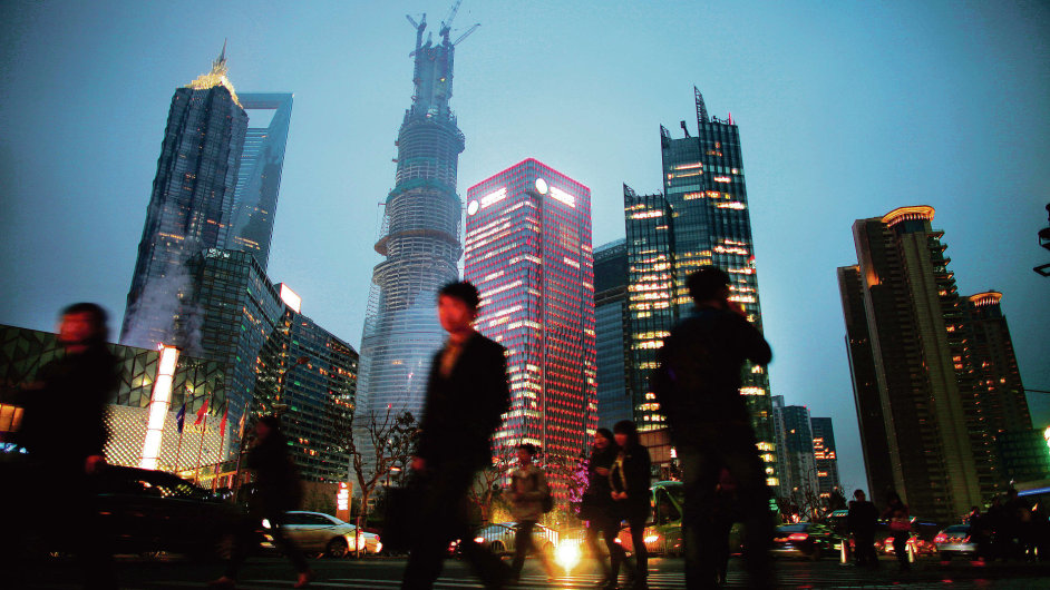 Čínská  ekonomika zpomaluje (ilustrační foto).