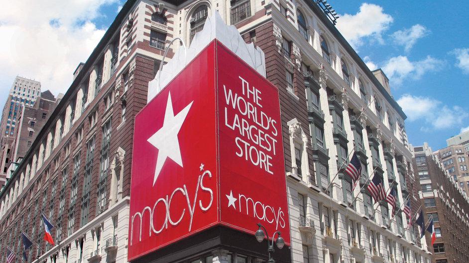 Prodejna Macy´s v New Yorku.