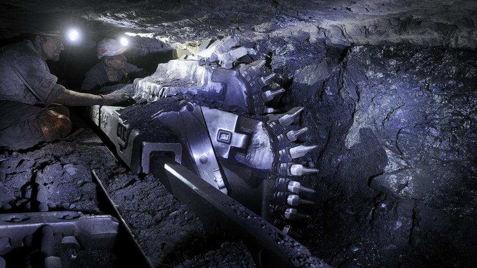 Přední producent černého uhlí NWR zaznamenal propad těžby o 20 procent. Ilustrační foto