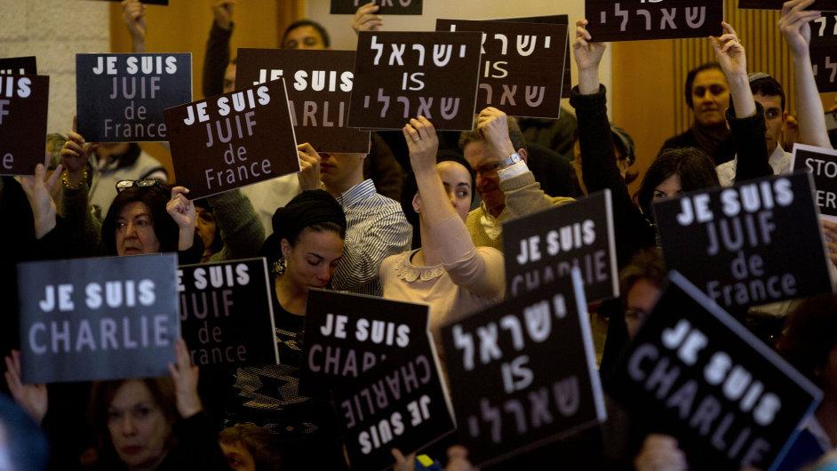 Jeruzalém: Jsme francouzští židé!