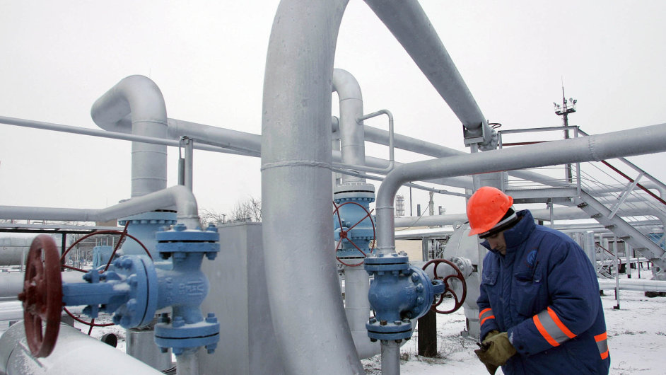 Drahý plyn z Ruska. Ukrajinská Mašivka je jedním z uzlů dopravy ruského plynu.