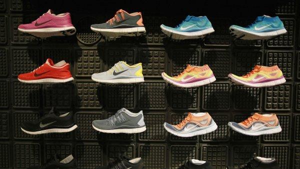 Čtvrtletní zisk výrobce sportovního oblečení Nike stoupl o pětinu -Ilustrační foto.