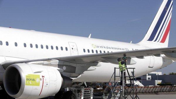 Teroristick� �toky v�razn� ovlivnily tr�by Air France - Ilustra�n� foto.