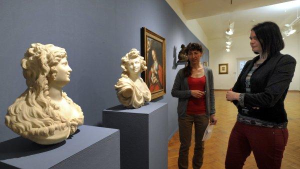 Severo�esk� galerie otev�ela dv� v�stavy, soust�ed� se na baroko a mal��e Kubina se Schneiderem
