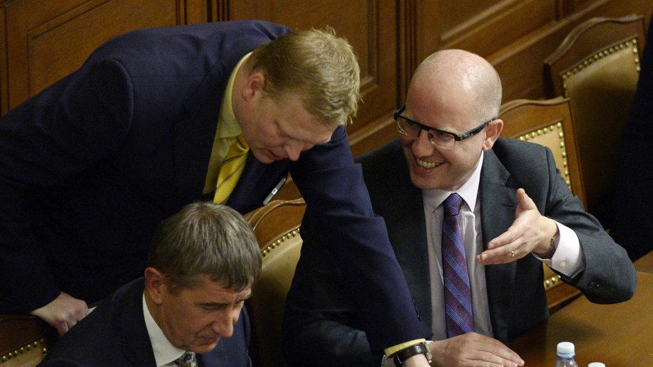 Lídr lidovců Pavel Bělobrádek chce po kolezích ve vládě tvrdší postoje hlavně vůči Rusku.