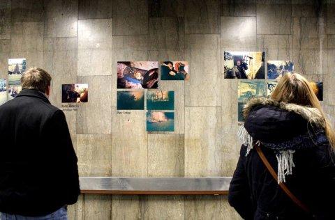 Snímek z vernisáže výstavy Probuzení spáči