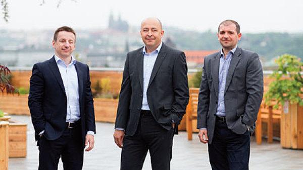 Tým KPMG Legal - Radek Halíček, Martin Kofroň a Martin Hrdlík
