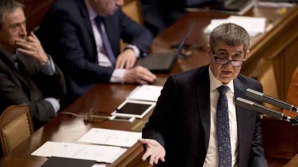 Andrej Babiš ve sněmovně zveřejnil vlastníky Čapího hnízda.