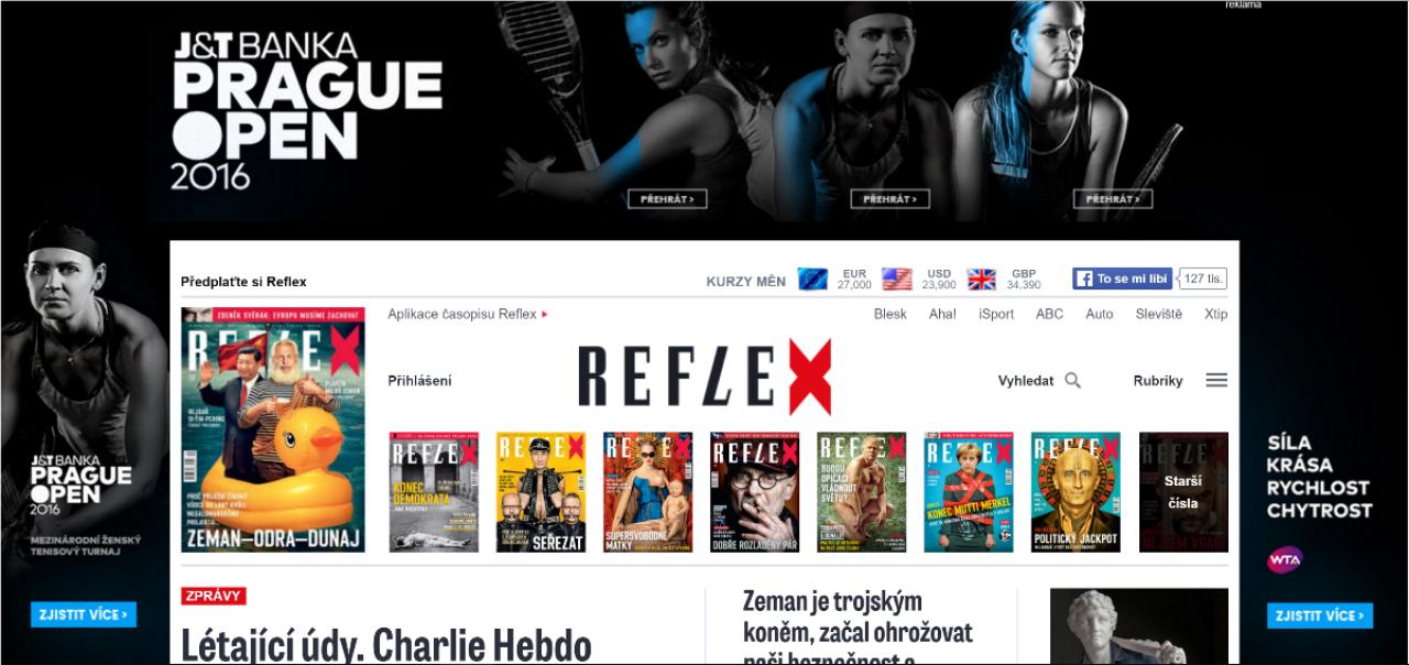 J&T Banka Prague Open využije v kampani interaktivní brandingy s videem