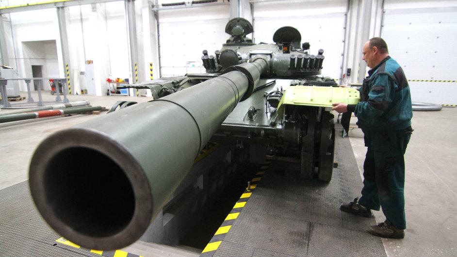Tatra Defence je první zbrojovkou, která vznikla v ČR
