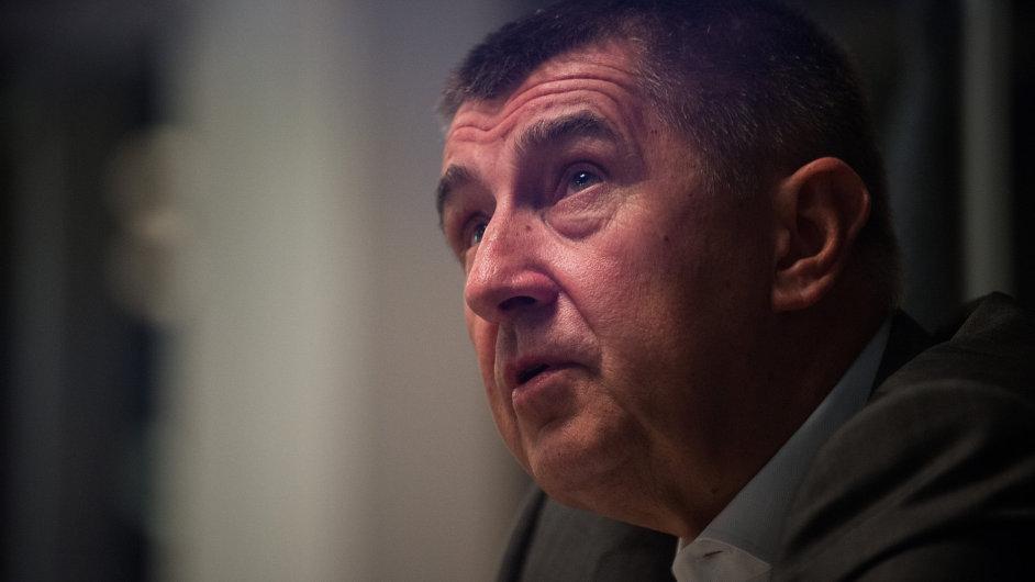 Andrej Babiš - ministr financí ČR a předseda hnutí ANO