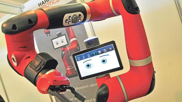 Robot- ilustrační foto