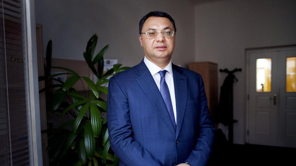 Největší akcionář a předseda představenstva ERB Roman Jakubovič Popov