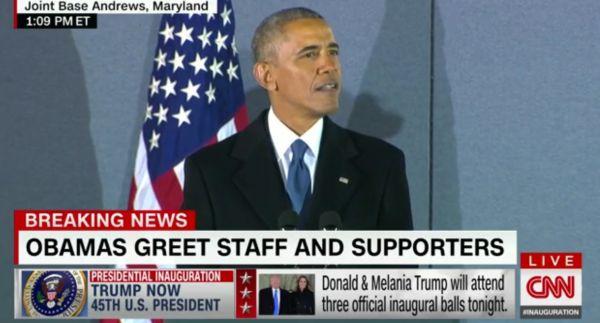 Obama mluvA