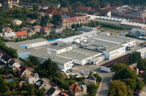 Továrna Nutricia Deva v Novém Městě nad Metují.