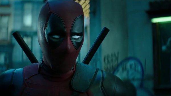 Snímek z upoutávky na film Deadpool 2.