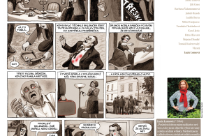 Komiks Lucie Lomové na téma