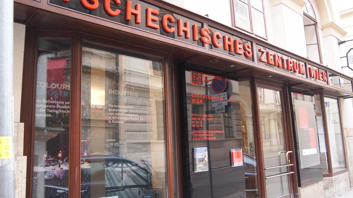 Na snímku je České centrum ve Vídni, které povede Mojmír Jeřábek.