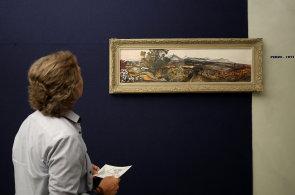 Galerie v Lounech vystavuje Fillovu pozdní tvorbu. Na zámku působil po návratu z koncentračního tábora