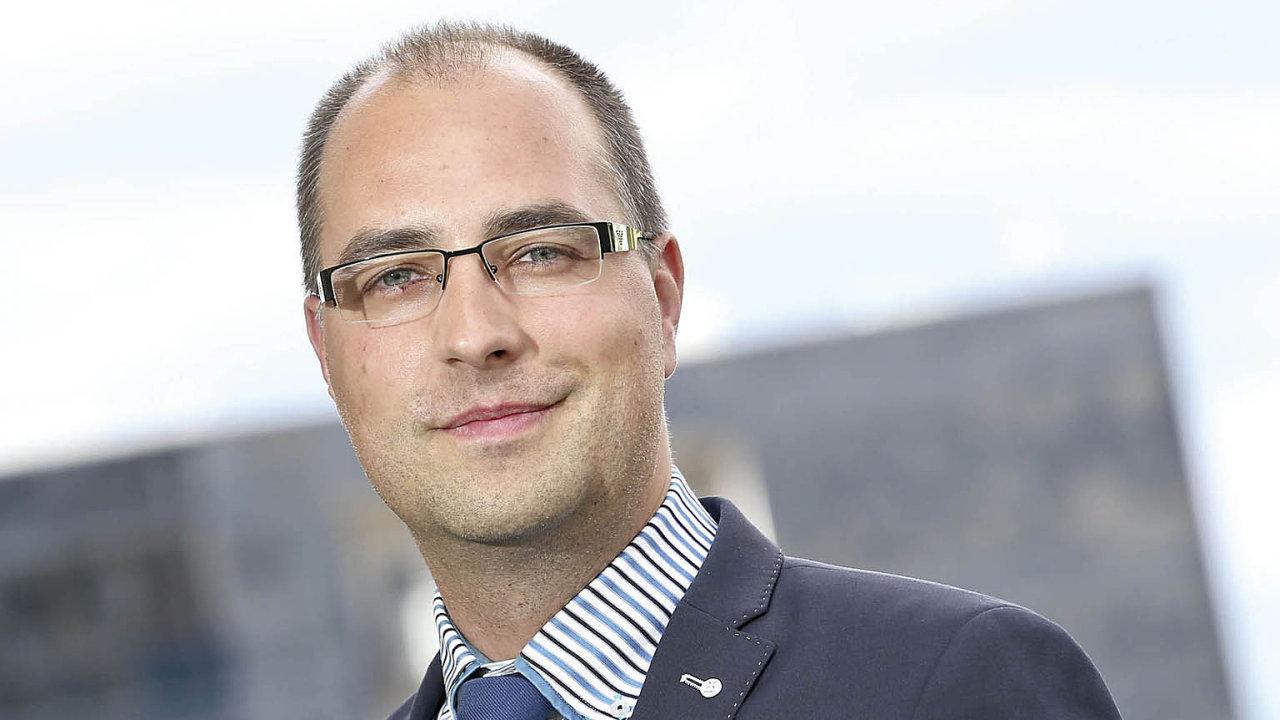 Ředitel a majitel institutu CEMI (Central European Management Institute) Štěpán Mika
