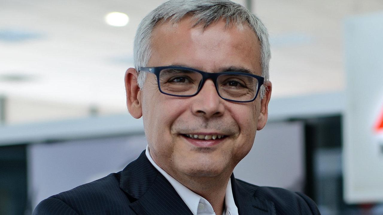 Martin Saitz, generální ředitel pro distribuci a retail v České a Slovenské republice v rámci společnosti AutoBinck CZ