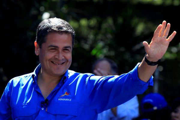 Honduras, prezident, Orlando Hernandéz