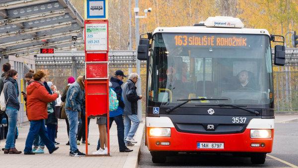 Dopravní podnik hlavního města Prahy nesmí uzavřít smlouvu v tendru na dodávku 300 autobusů - Ilustrační foto.