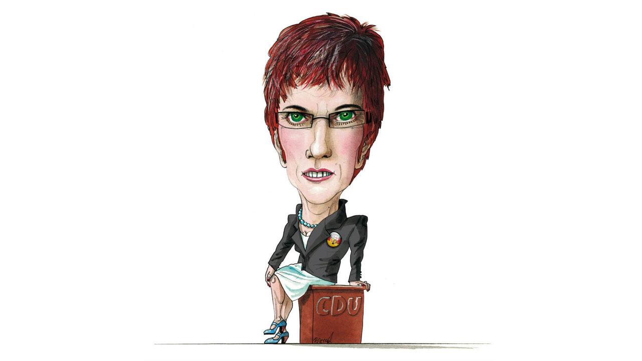 Annegret Krampová-Karrenbauerová má být nástupkyní Angely Merkelové v čele německých křesťanských demokratů.