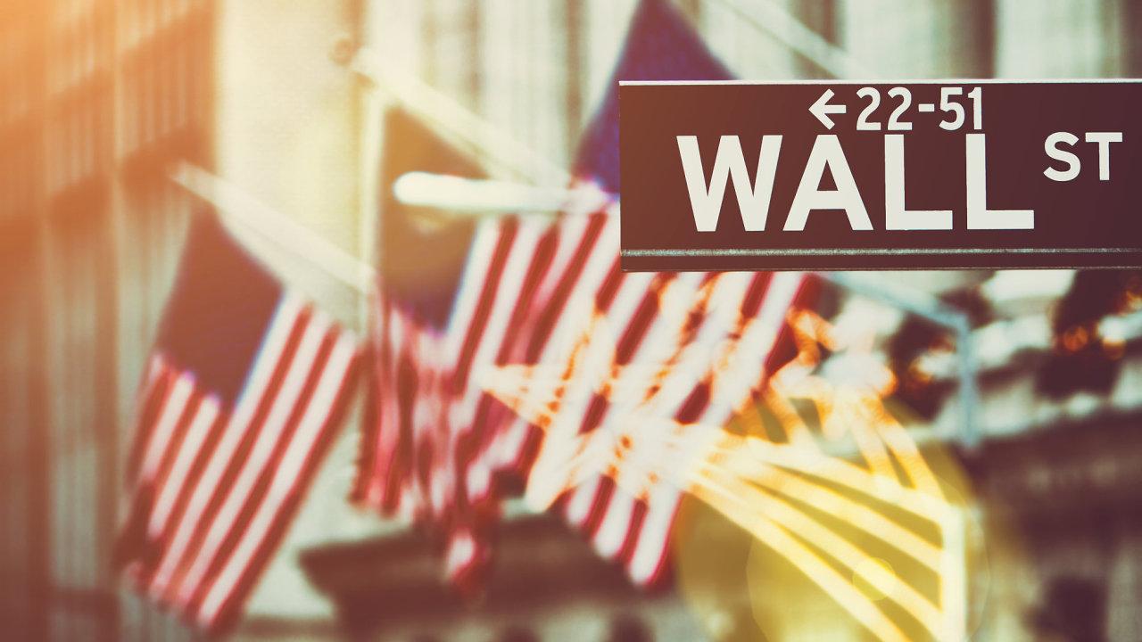 USA Amerika Americká vlajka ekonomika Wallstreet Wall Street