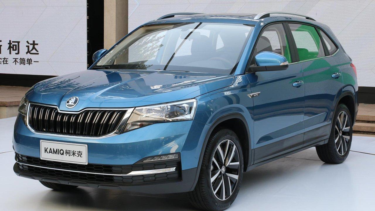 Nové SUV pro čínský trh se jmenuje Kamiq, bude mít benzinový motor o objemu 1,5 litru a výkonu 81 kW. V prodeji bude pouze s šestistupňovou automatickou převodovkou.
