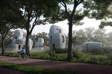 V Nizozemsku vzniknou první obyvatelné domy z 3D tiskárny. Stavební firma tak řeší nedostatek zedníků