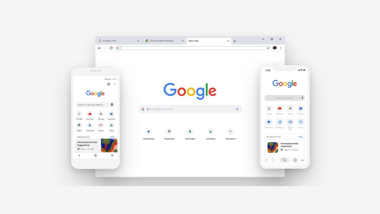 Google Chrome má upravený vzhled a lepšího správce hesel