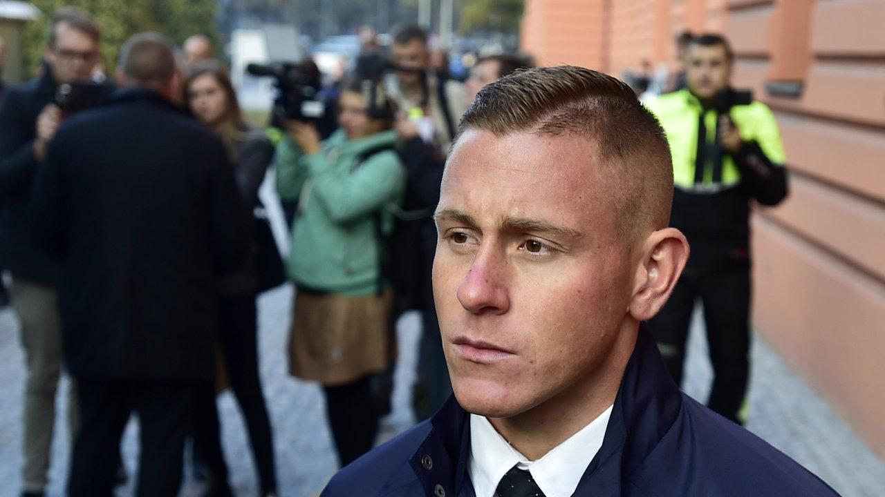 Obžalovaný policista Šimon Vaic.