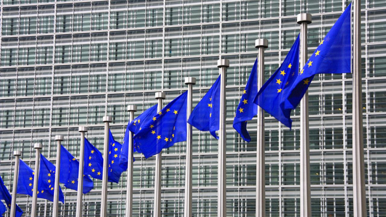 Budova Evropské komise.