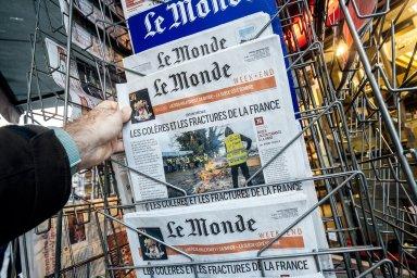 Bude v českých rukou? Ikonický francouzský list Le Monde by mohl ovládnout Daniel Křetínský. Tamní novináři z toho mají obavy.