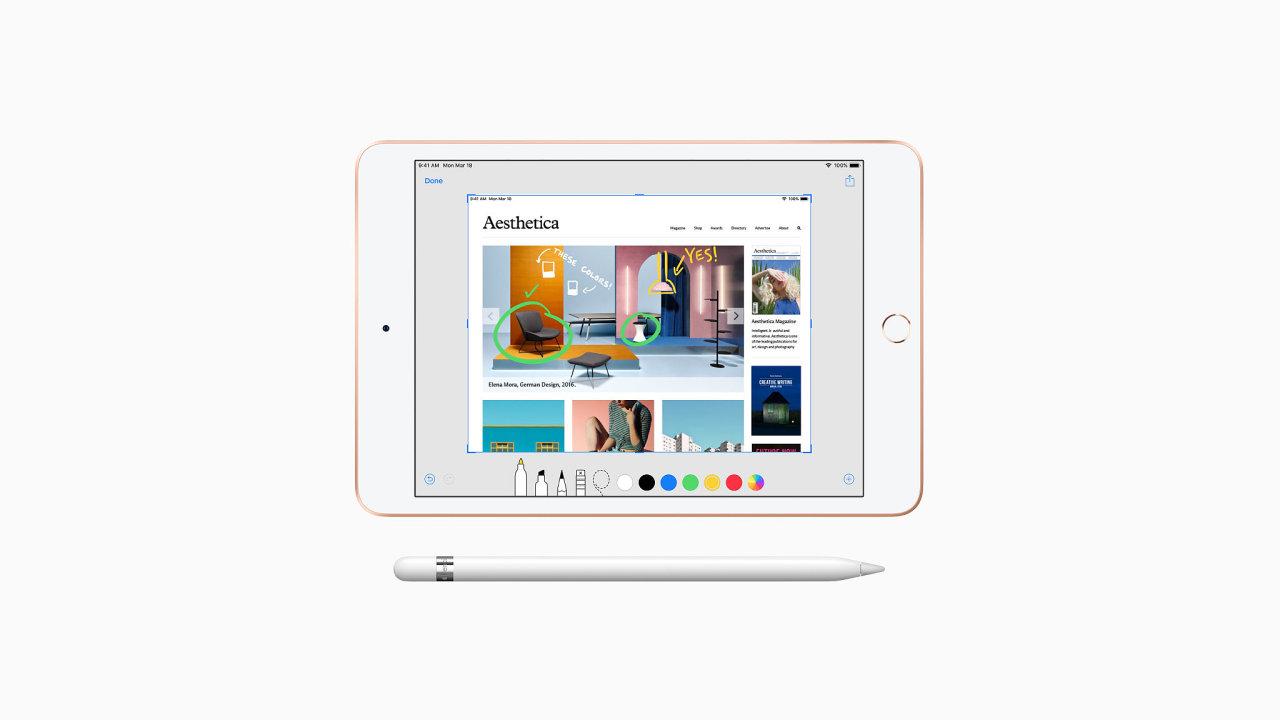 Inovované iPady mají lepší výbavu, ale stejný design