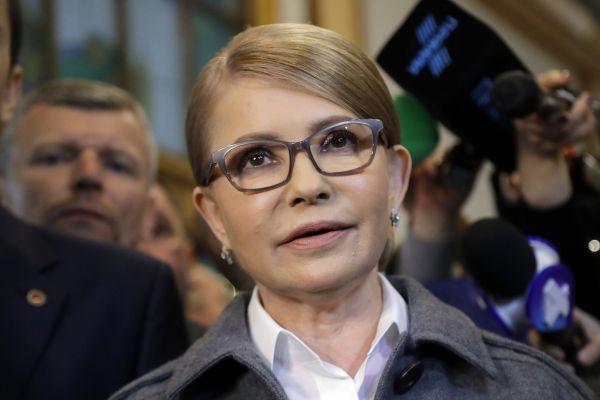 Bývalá ukrajinská premiérka Julie Tymošenková.