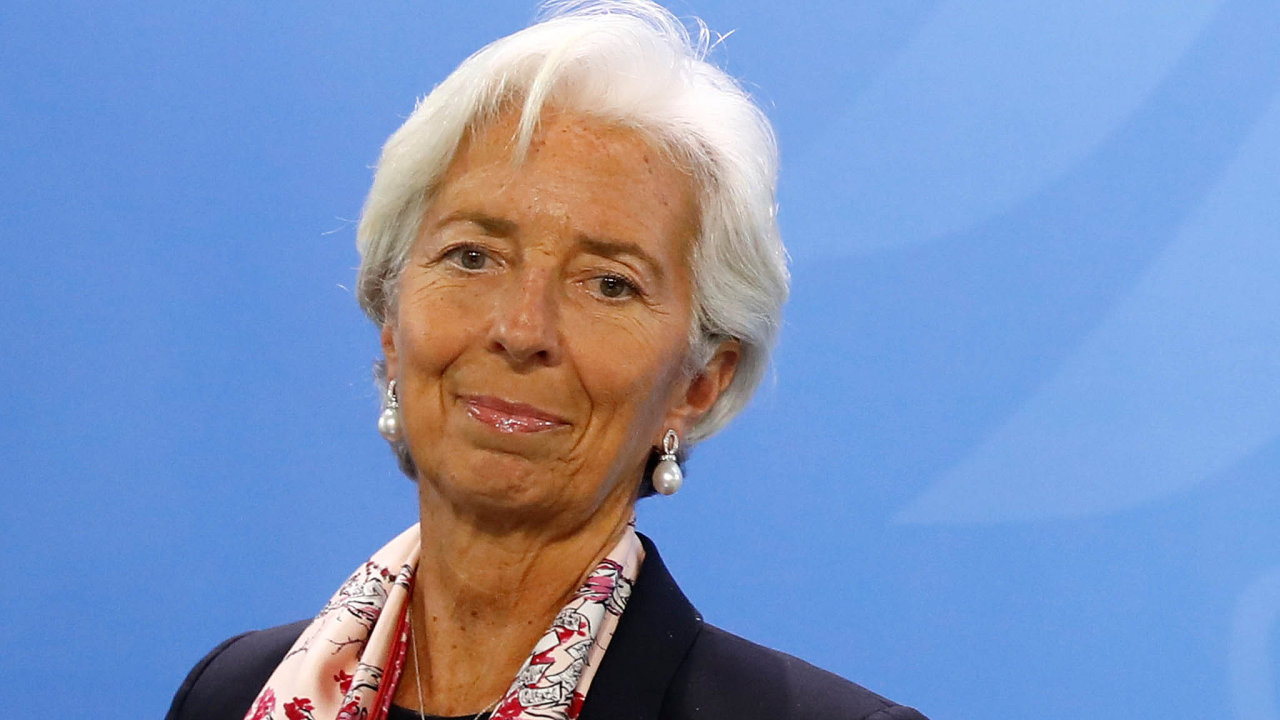 Christine Lagardeová, šéfka MMF, který 9. dubna vydává výhled globální ekonomiky