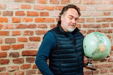 Majitel knižního nakladatelství Labyrint Joachim Dvořák