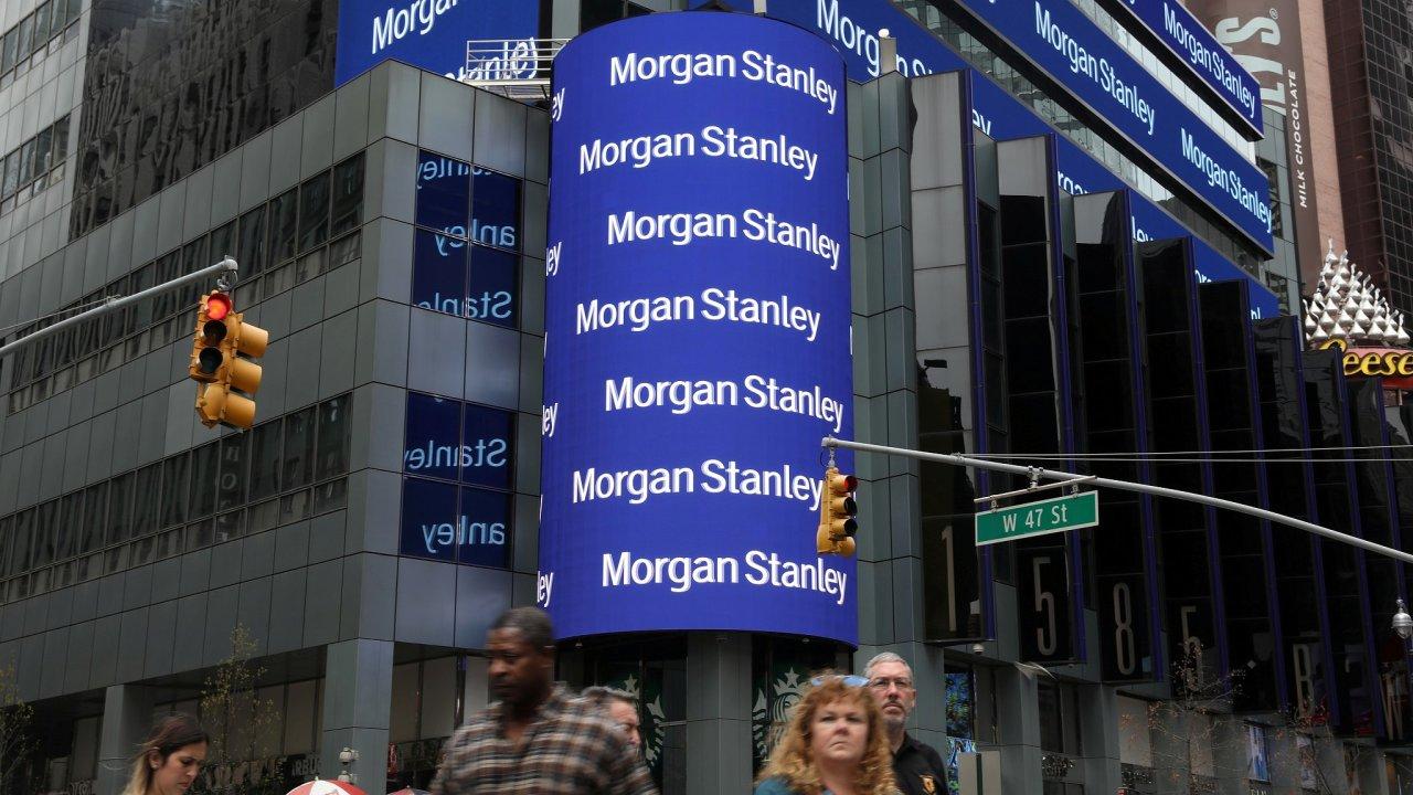 Sídlo americké investiční banky Morgan Stanley v New Yorku.