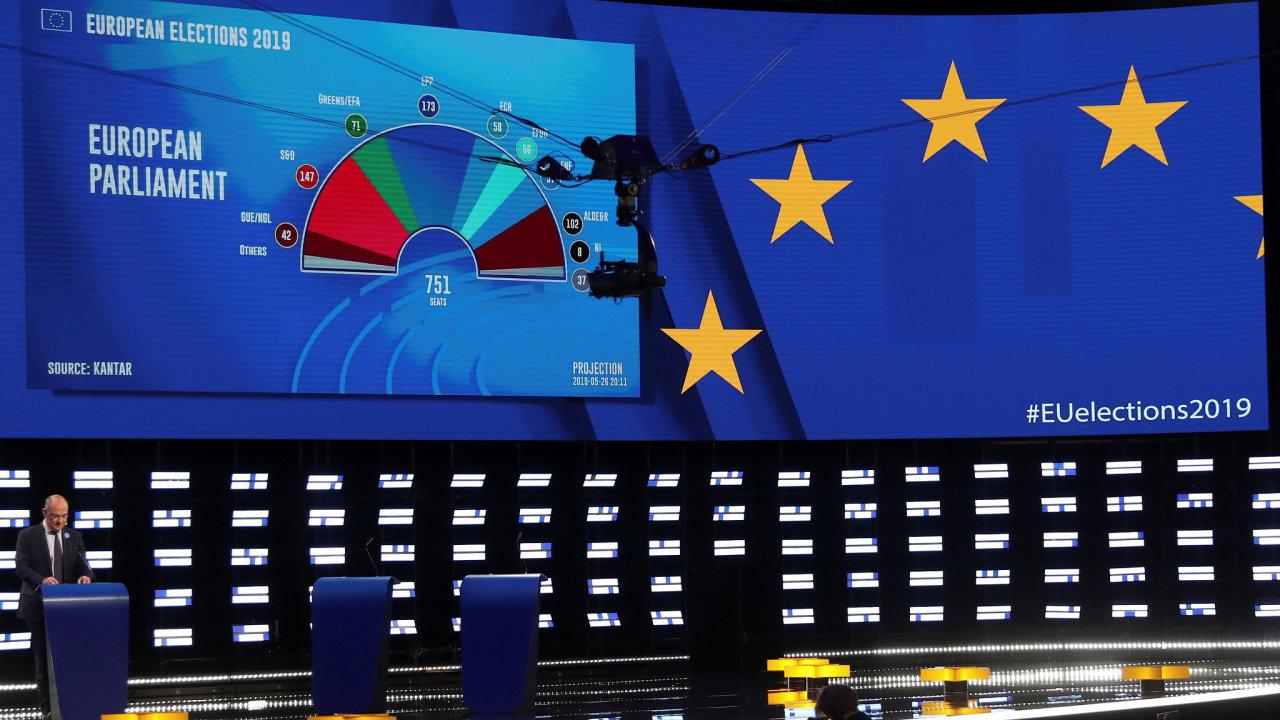 Celková průměrná volební účast v celé EU byla nejvyšší od roku 1994.