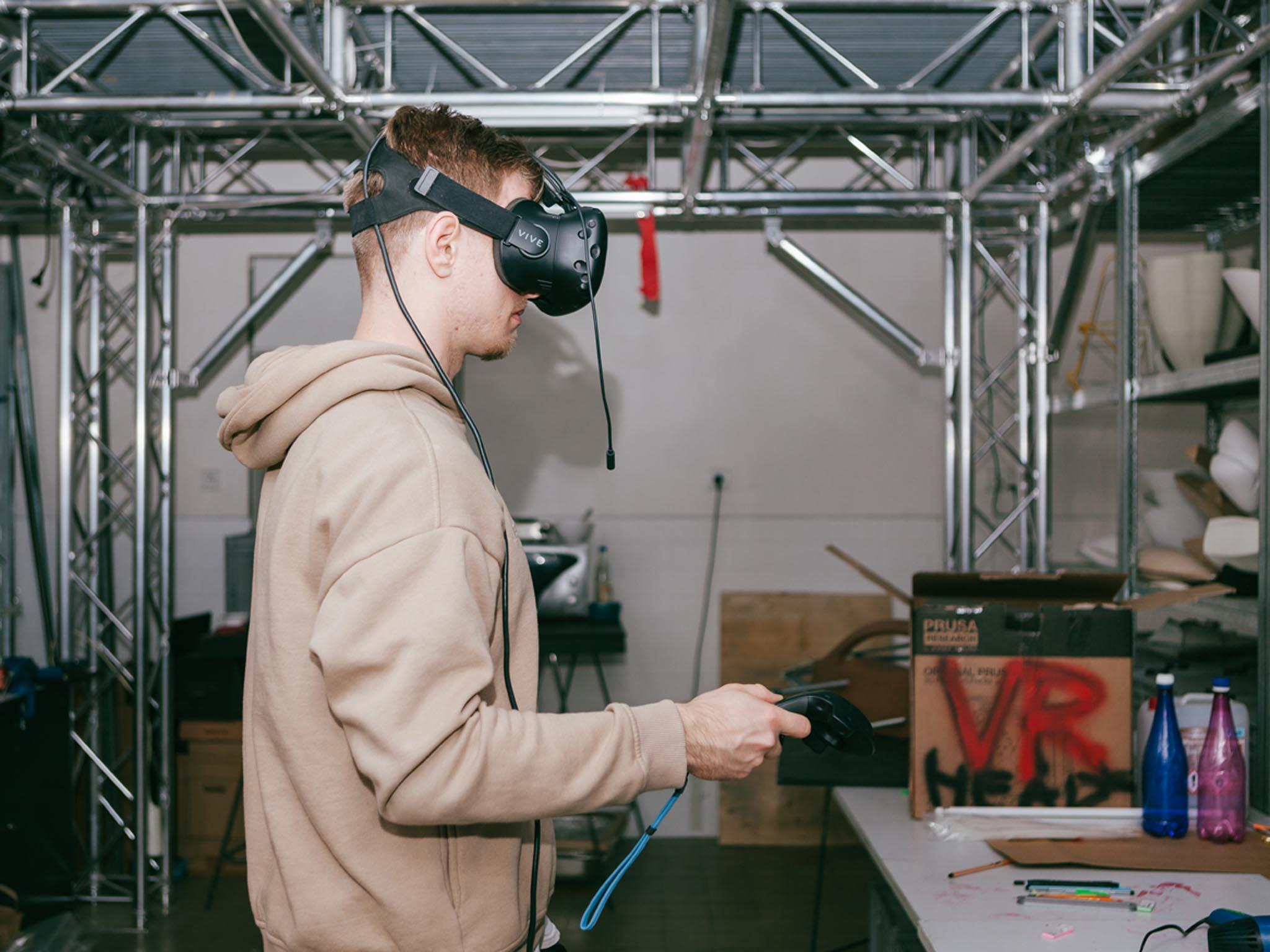 Studenti UMPRUM pracují i s virtuální realitou.