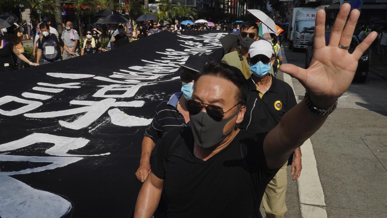 Hongkong protest maska