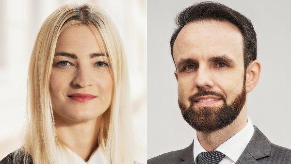Miriama Švachová a Jiří Bláha novými konzultanty v BNP Paribas Real Estate