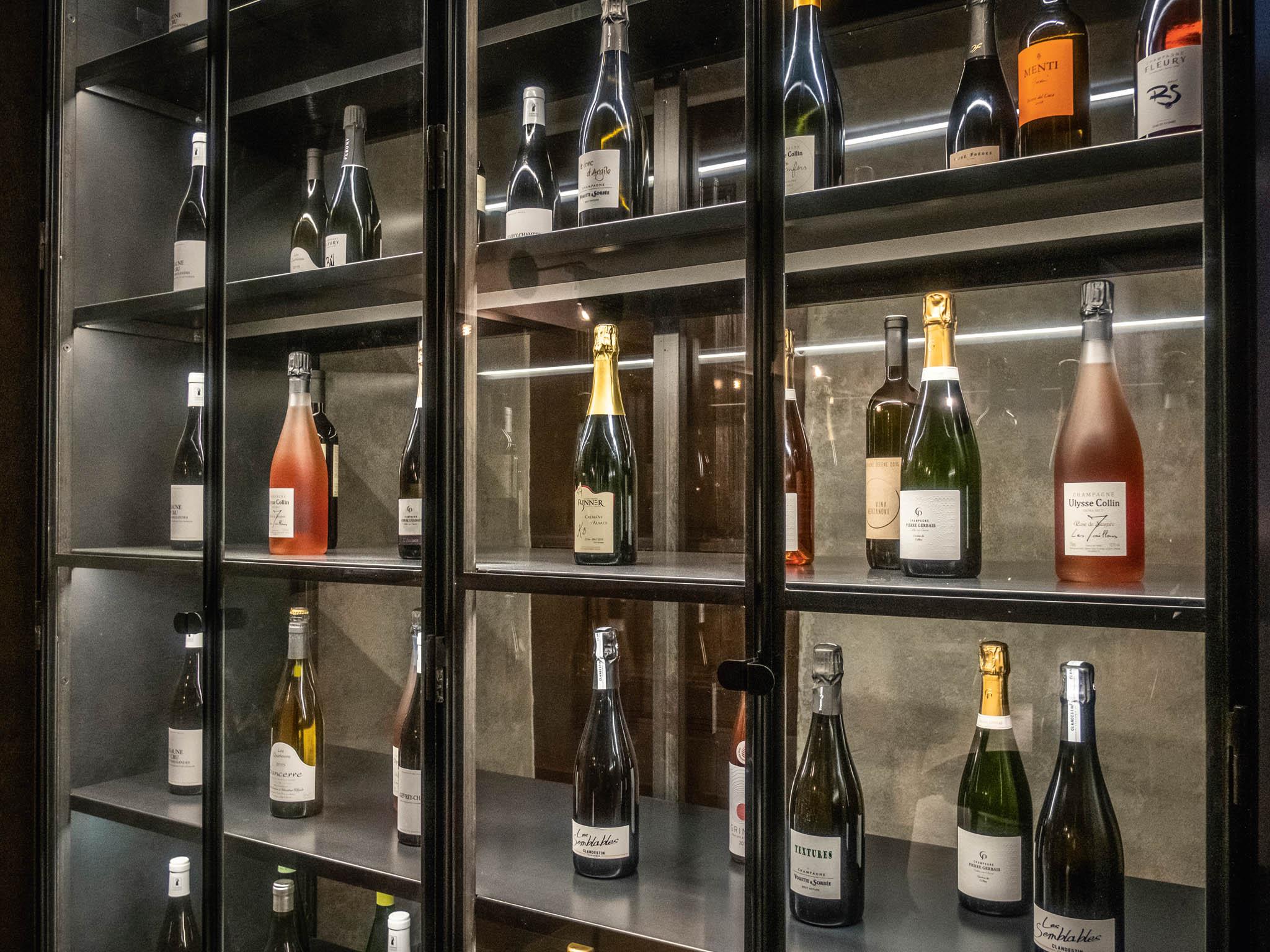 Velkým překvapením pro hosty jsou naturálně připravená šampaňská.