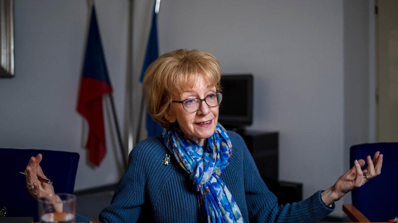 Zmocněnkyně pro lidská práva Helena Válková (ANO) na přelomu 70. a 80. let obhajovala institut ochranného dohledu, který často sloužil i k perzekuci politických odpůrců režimu.