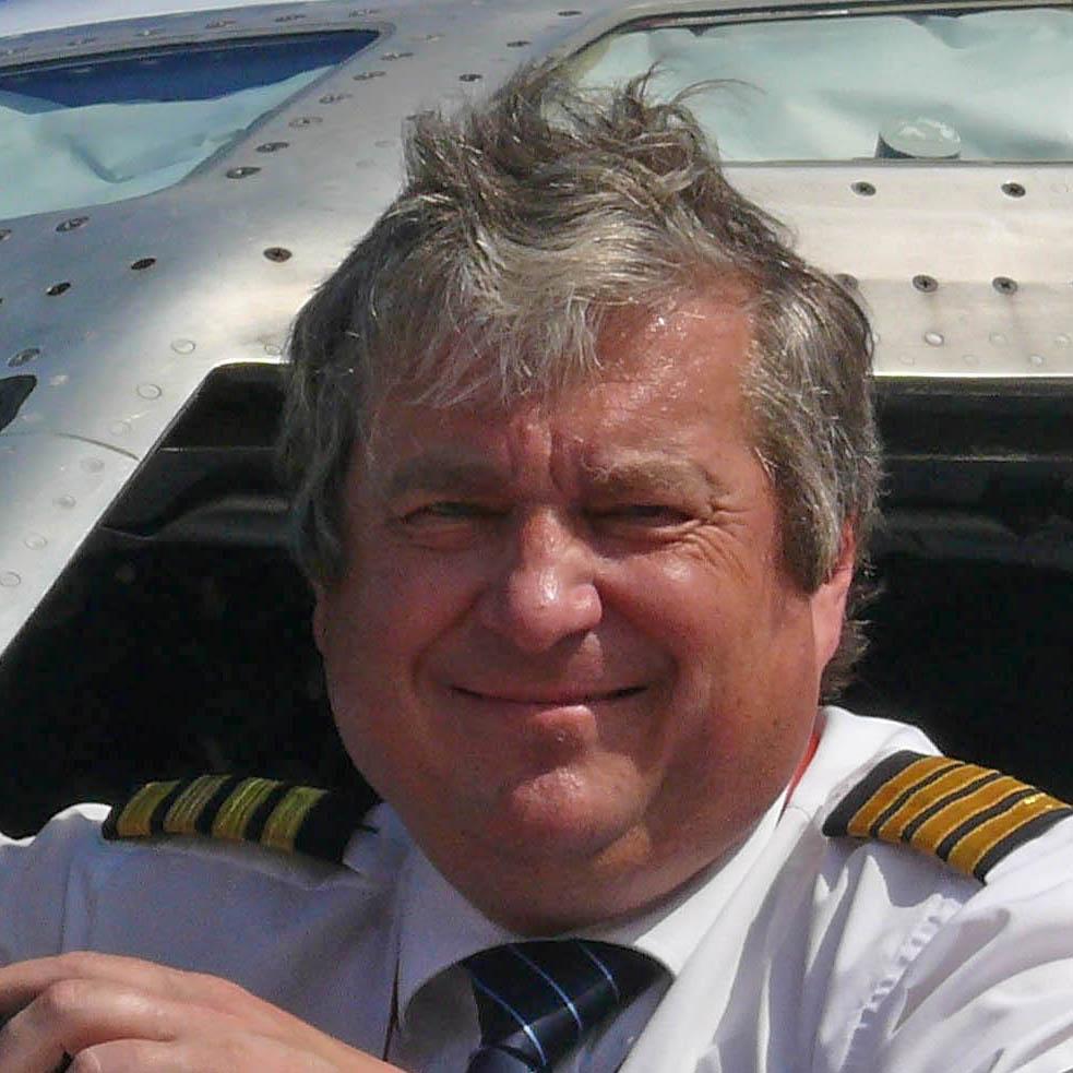 Ladislav Keller dlouholetý pilot, kapitán a letecký instruktor