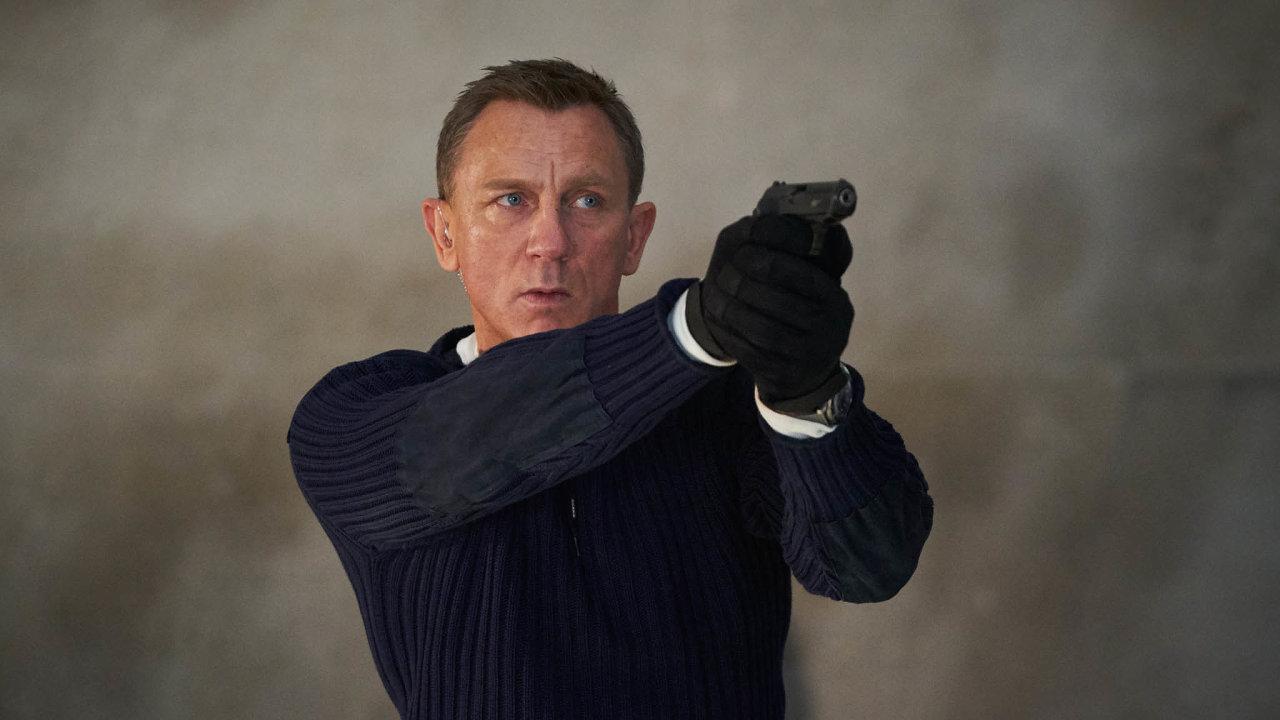 Film Není čas zemřít sDanielem Craigem (na snímku) česká kina uvedou v listopadu.