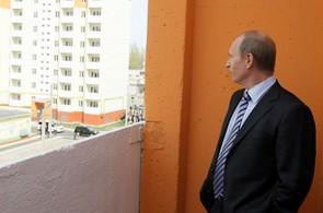 Ilustrační foto: Putin, stavby